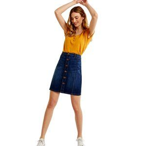 Reitmans Denim Skirt, Size 38